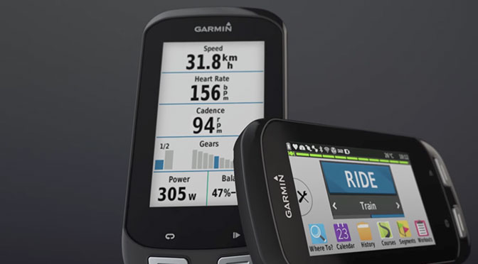 GPS Garmin EDGE 1000 à gagner !