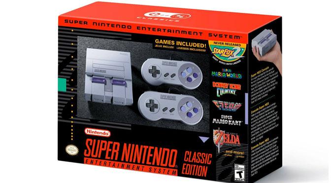 Concours super nintendo classic edition