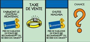 Vignette bleu Monopoly 2018