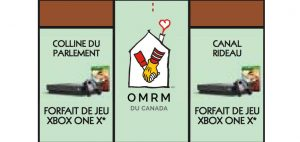 Vignette brune Monopoly 2018