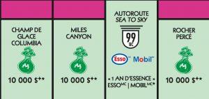 Vignette rose Monopoly 2018