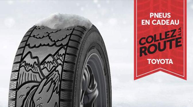 concours pneu hiver Toyota