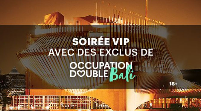 Concours Occupation Double Bali 2017 Casino