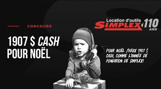 Concours Simplex 1907$ en argent
