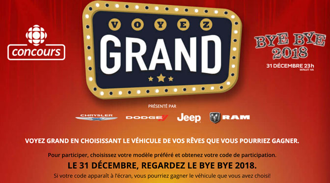 Concours Bye Bye 2018