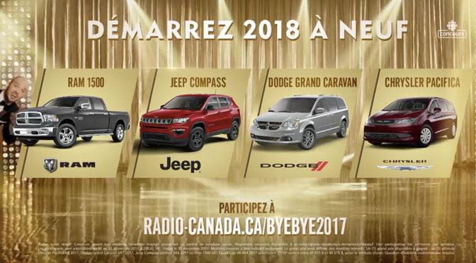 Concours Bye bye 2017