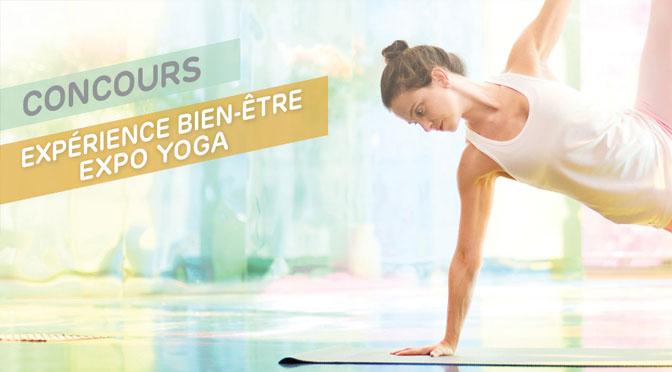 Concours Expo Yoga 2018