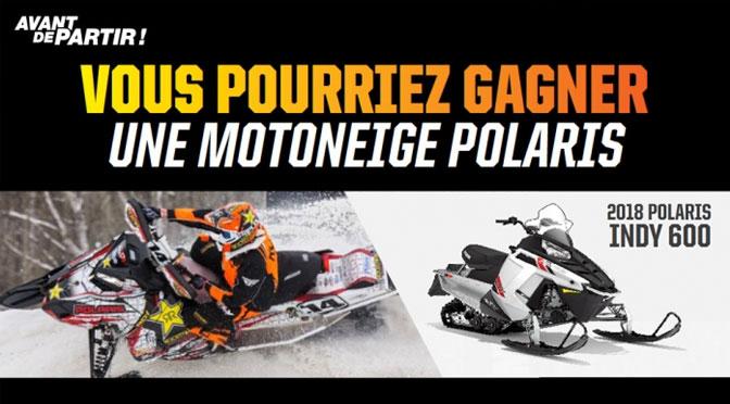 Concours Rockstar Motoneige Polaris