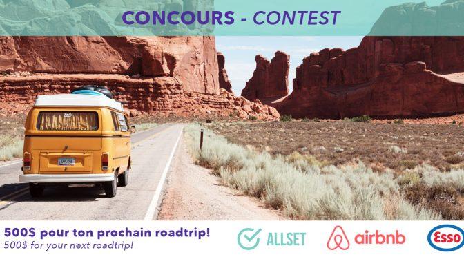 Concours road Trip Allset