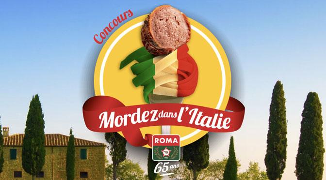 Concours Mordez dans l'italie