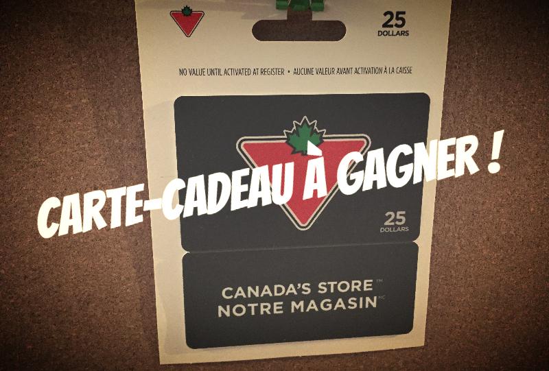 concours carte cadeau canadian tire gagner concours du jour. Black Bedroom Furniture Sets. Home Design Ideas