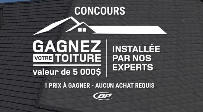 Courez la chance de gagner 5 000 $ pour votre toiture grâce au concours RONA inc.