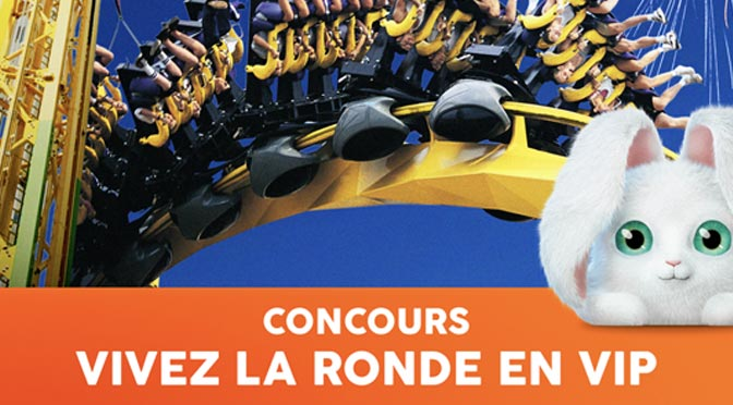 Gagnez un forfait VIP familial de 1300 $ au concours «Vivez La Ronde en VIP»
