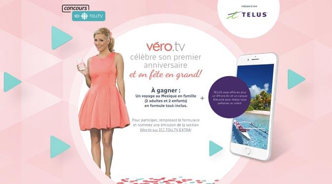 Concours Véro.tv: Gagnez un voyage pour 4 à Riviera Maya au Mexique