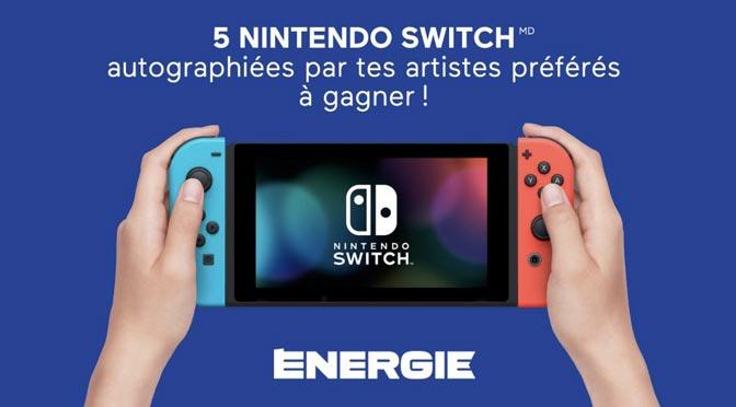 Concours Bell Média : Gagner l'une des 5 Consoles Nintendo Switch à 379.99$