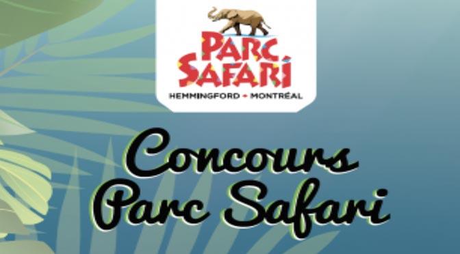 Gagnez un Séjour auParc Safari pour 4 personnes d'une valeur de 300 $