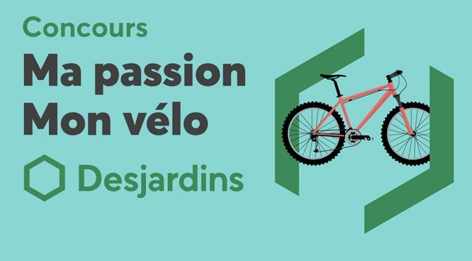 Un chèque-cadeau de 4 000 $ à gagner au concours « Ma passion, mon vélo »