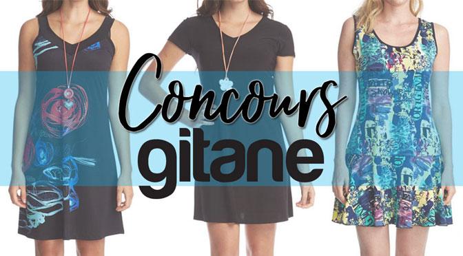 Concours 3 robes Gitane : Gagner l'un des 4 ensembles de robes à 200 $