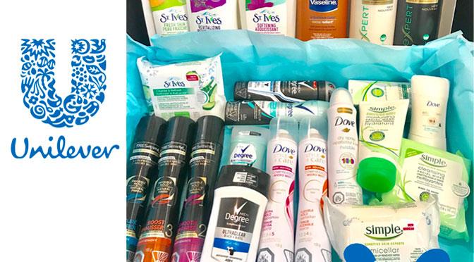 Gagnez un panier cadeau de produits de beauté Unilever d'une valeur de 201$
