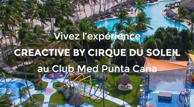 Gagner un séjour durant 7 nuitspour 4 personnes au Club Med Punta Cana