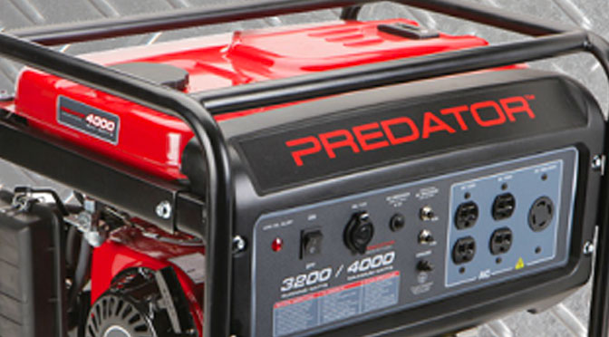Concours : Gagnez Une Génératrice De 4000 Watts à hauteur De $699.99