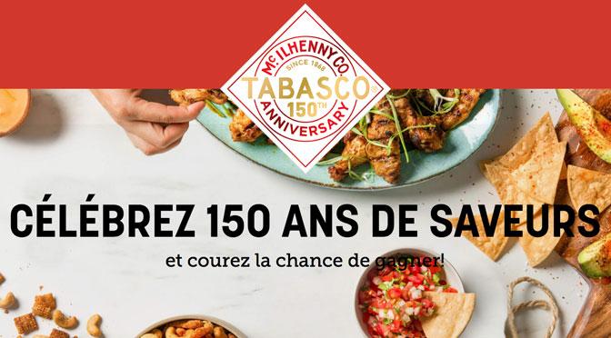 Souhaitez «Bonne fête» à Tabasco et Gagnez un voyage à Lyon pour 2 personnes