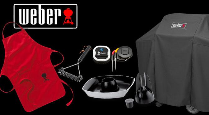 Gagnez un lot d'accessoires de barbecue Weber dont un thermomètre iGrill 3