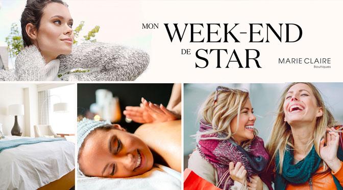 Gagnez un weekend de star en hôtel de luxe avec Spa et shopping
