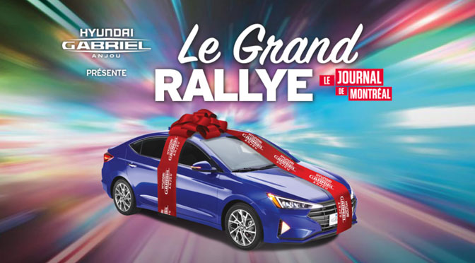 Concours Grand Rallye Journal Montréal et Québec