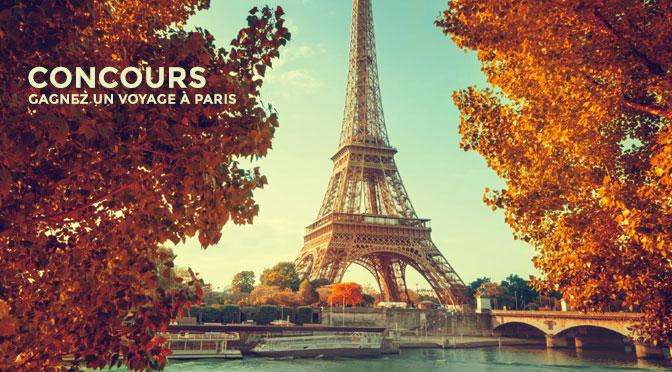 Concours voyage à paris à gagner