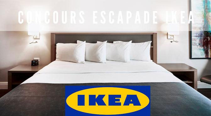 Concours escapade IKEA Cofortel