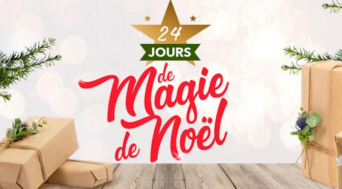 """Gagnez des prix au concours """"24 jours de magie de Noël"""" avec Jean Coutu"""