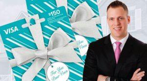 Gagnez une carte cadeaux VISA Prépayées à de 300 $ au Concours St-Valentin