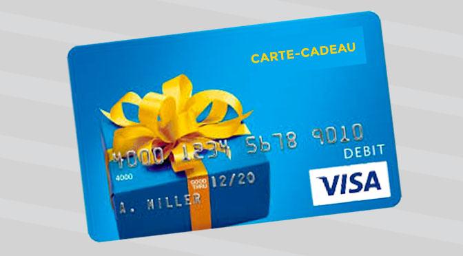"""Gagnez une Carte-Cadeau Visa à hauteur de 250 $ au Concours """"Les musts 2019"""""""