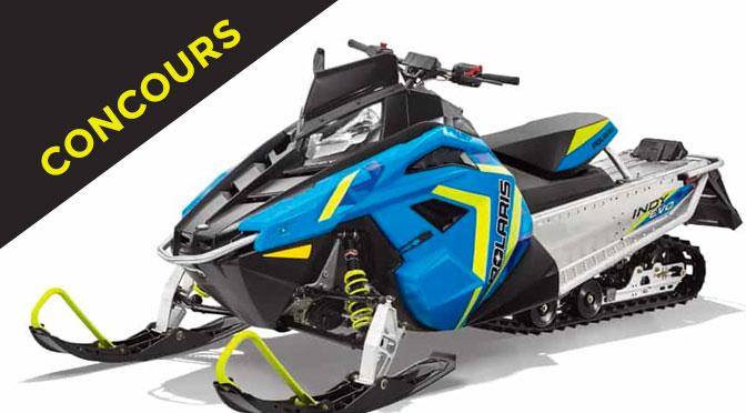 Gagnez une belle motoneige 2019 Polaris Indy EVO d'une valeur de 6 999 $