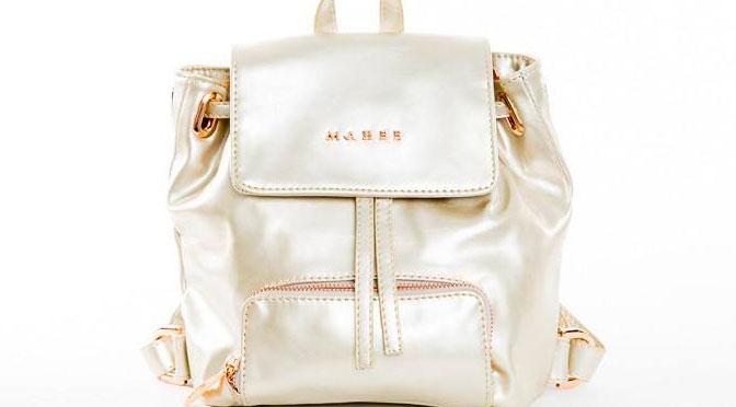 Gagnez un mini sac à dos Mahée champagne au concours du Nouvel An !