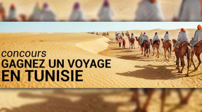 Concours Vacances Célébritours : Gagnez un Voyage pour 2 personne en Tunisie