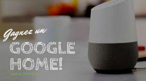 Gagnez un superbe assistant Google Home avec ledeveloppeur.ca