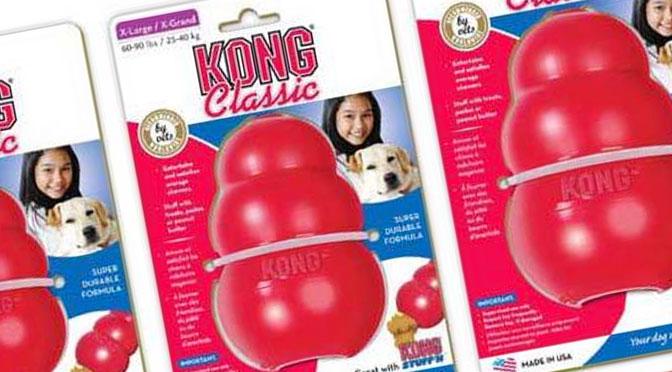 Gagnez l'un des 10 jouets KONG Classic avec Canin Expert