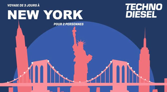 Gagnez une belle escapade pour 2 personnes durant 3 jours à New York !
