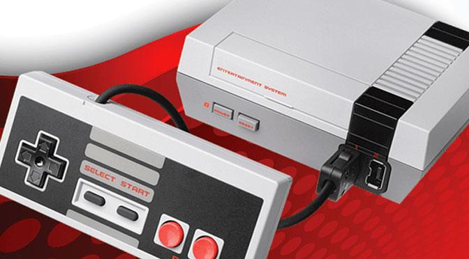 Gagnez une mini console Nintendo NES avec 500 jeux compatibles !