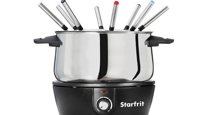 Gagnez un ensemble à fondue électrique de Starfrit d'une valeur de 59,99 $