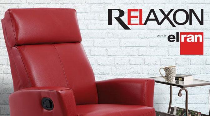 Gagnez un fauteuil berçant et inclinable Relaxon Elran à 1 219,99 $