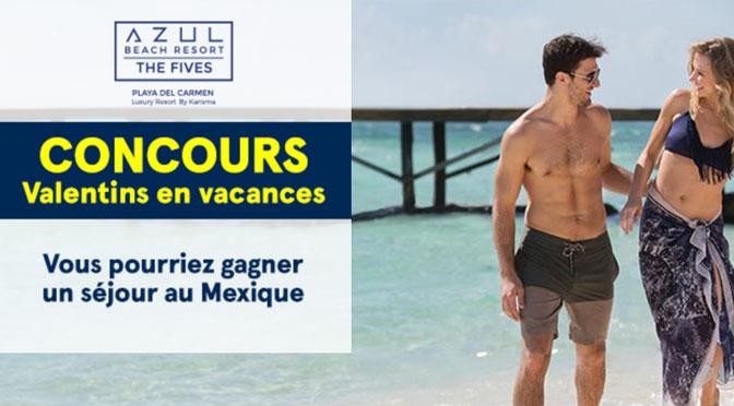 Gagnez un séjour durant 7 nuits au Mexique pour 2 d'une valeur de 6 000 $