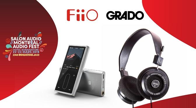 Gagnez un lecteur MP3 FiiO et une paire d'écouteurs Grado d'une valeur de 215 $