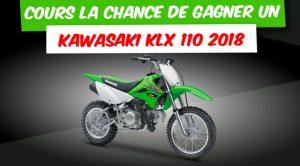 Concours Groupe Contant : Gagnez un Kawasaki KLX 110 2018 à 3 300 $