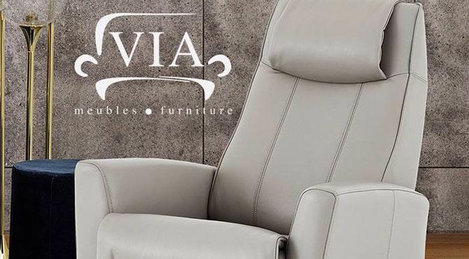 """Concours """"Profil Client"""" : Gagnez un fauteuil VIA berçant et inclinable à 2 999,99 $"""