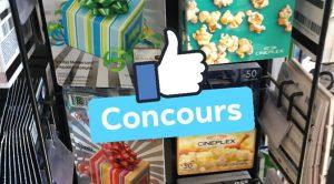 Concours Cinemas Semaine de relache 2019