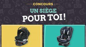 Concours Naître et grandir : Gagnez l'un des 2 sièges d'auto pour bébé de Graco