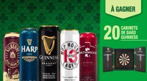 Gagnez l'un des 20 cabinets de dard Guinness de 250 $ avec Sobeys Capital